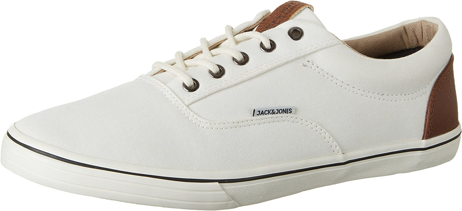 JACK & JONES Herren Jfwvision Mixed Marshmallow Low-Top  | Exzellente Verarbeitung
