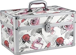 Vaultz Locking Makeup Artist Case, Cosmetic Roses (VZ03810)
