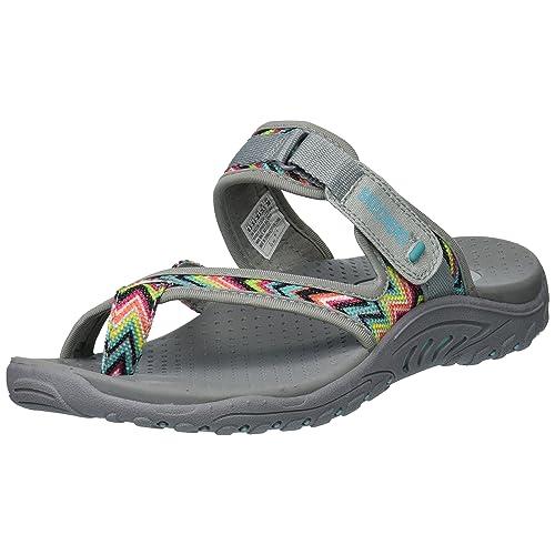 e50b8819f5e Skechers Women s Reggae-Zig Swag Flip-Flop Sandals