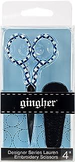 """Gingher 4"""" Designer Series Lauren Embroidery Scissors"""