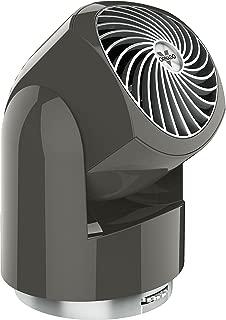 Vornado Flippi V10 Compact Oscillating Air Circulator Fan, Graphite Gray