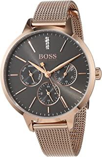 686166549 Hugo BOSS Unisex-Adult Multi dial Quartz Watch with Stainless Steel Strap  1502424