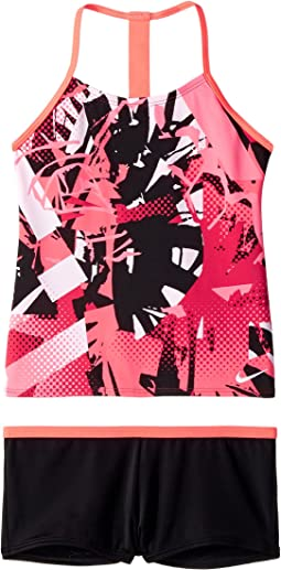 Nike Kids - T-Back Tankini Set (Big Kids)