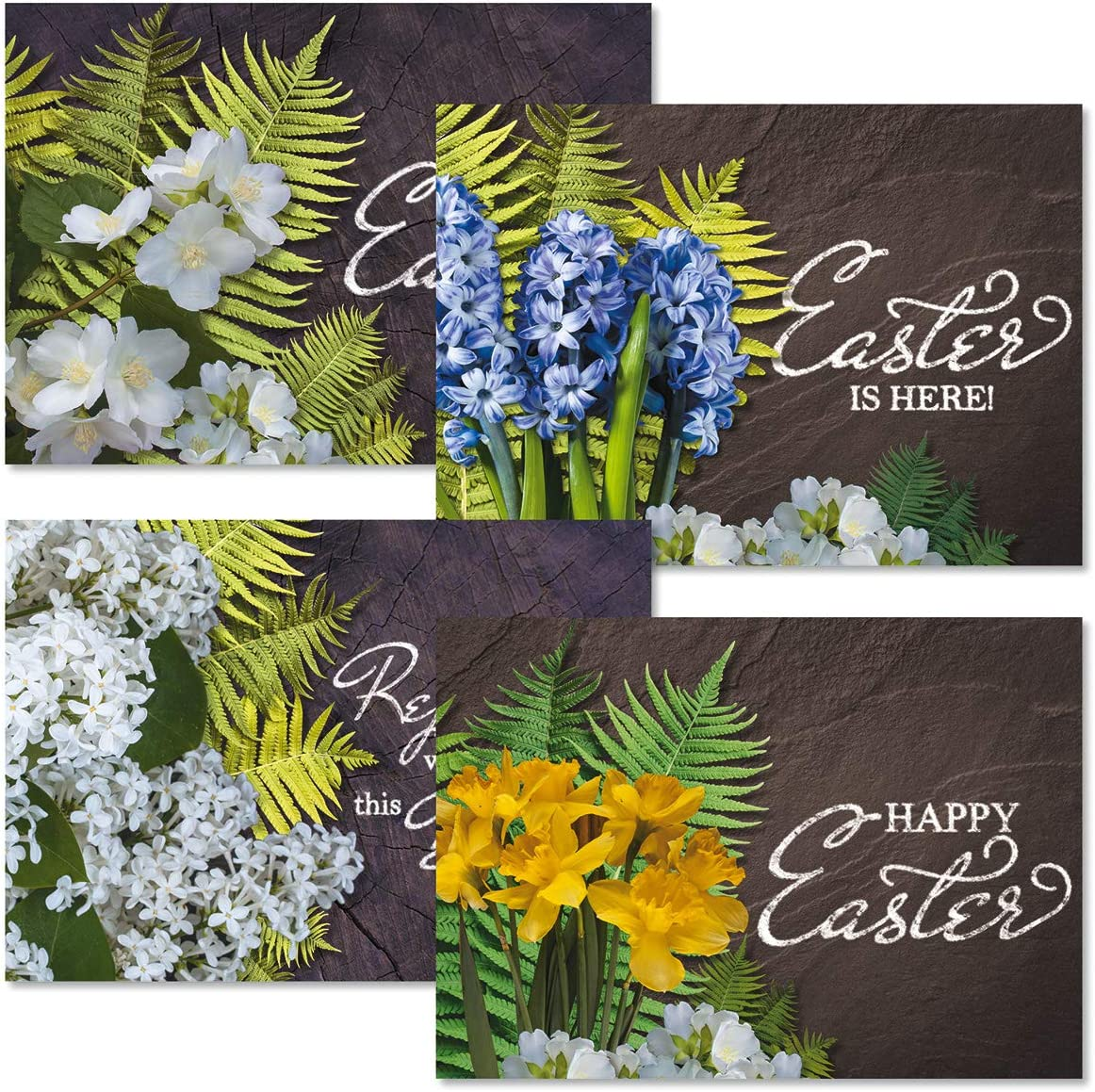 Fresh Cut Easter Greeting Cards New arrival - Set Design Max 80% OFF 2 5