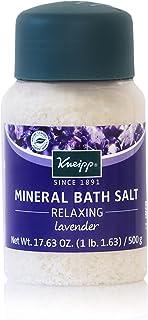 Kneipp Lavender Mineral Bath Salt, Relaxing, 17.63 fl. oz.
