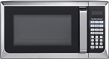 Hamilton Beach 0.9 cu.ft. 900W Stainless Steel Microwave Oven