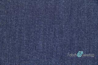 COTTON COLOUR WOVEN STRIPE-GREY//NAVY//BLUE-DRESS//CRAFT FABRIC-FREE P/&P