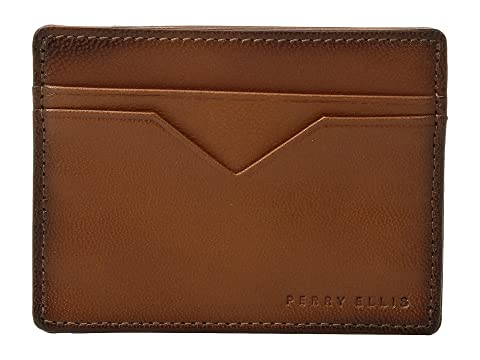 Cartera Perry Tan PE Card Slim Ellis Case 55rqaxBUw