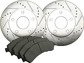 N-ZDNS-16 Front Disc Brake Pad and Rotor Kit