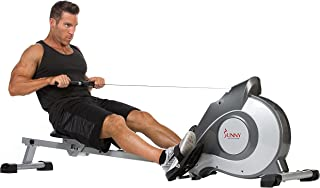 Sunny Health & Fitness Magnetic Rowing Machine with LCD...
