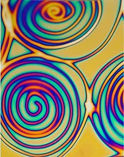 Far Out Tie Dye Dichromagic Decal Paper