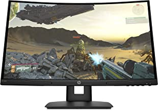 HP X24c Gaming Monitor | 1500R Curved Gaming Monitor in FHD Resolution with 144Hz Refresh Rate and AMD FreeSync Premium | ...
