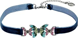 Betsey Johnson - Butterfly Choker Necklace