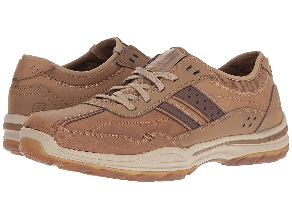 SKECHERS Classic Fit Elment Meron (Desert Leather) Men