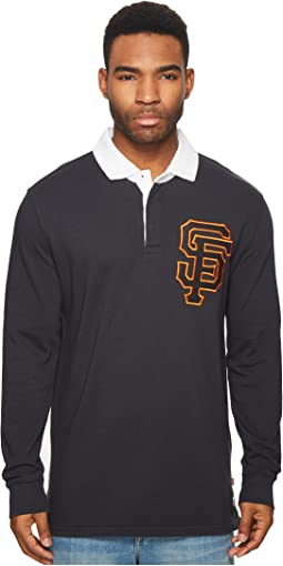 Levi's® Mens SF Giants LSC Rugby Solid Shirt