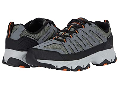 SKECHERS Crossbar Stilholt (Gray/Orange) Men
