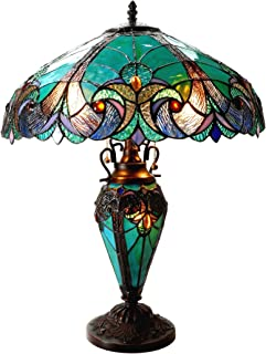 Best victorian glass lamp shades table lamps Reviews