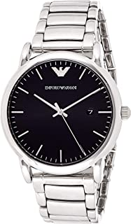 Emporio Armani Men's Watch Ar2499, Silver Band, Analog Display