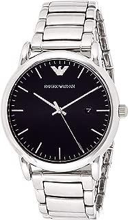 Emporio Armani Men's Watch Ar2499, Silver Band, Analog Display
