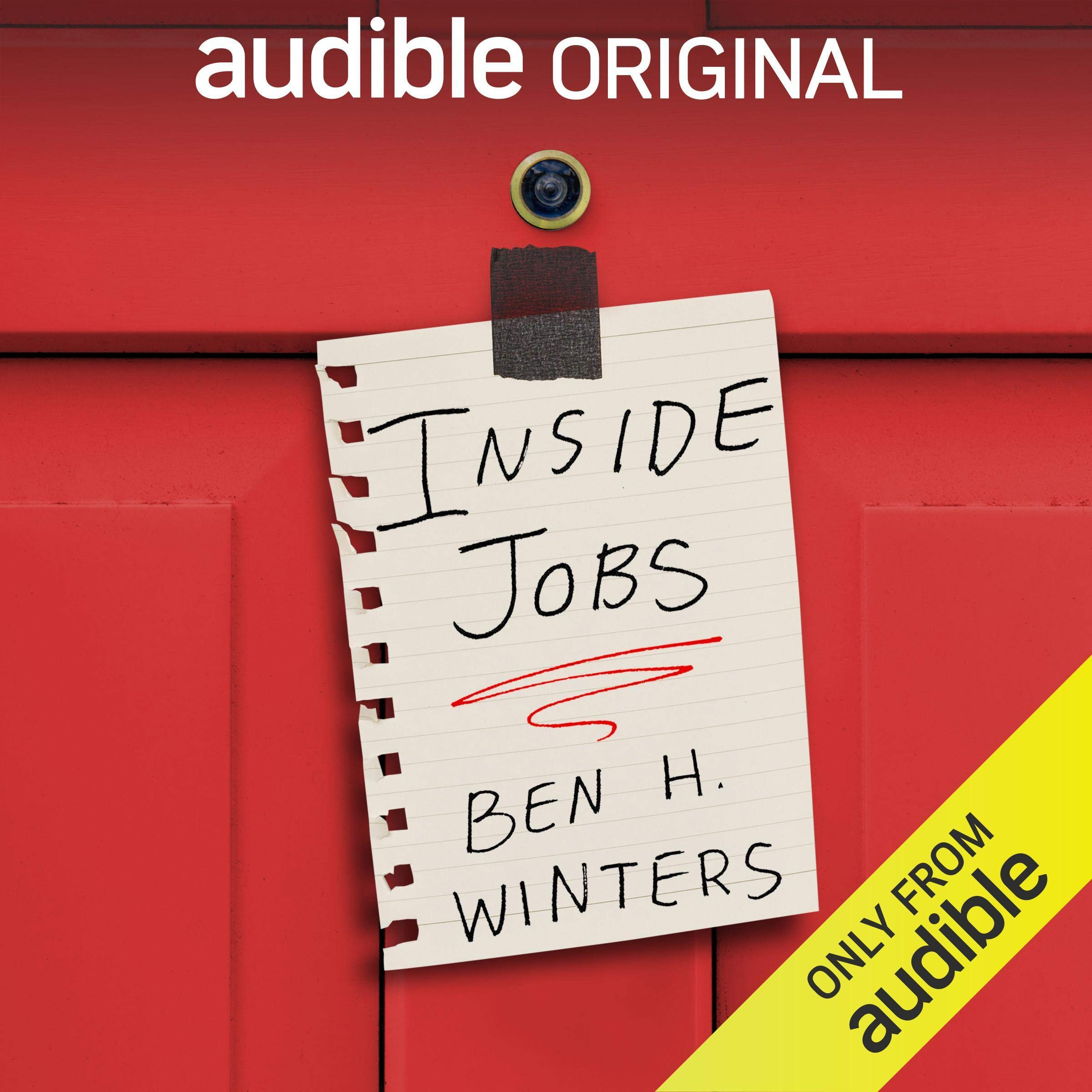 Cover image of Inside Jobs: Tales from a Time of Quarantine by Ben H. Winters