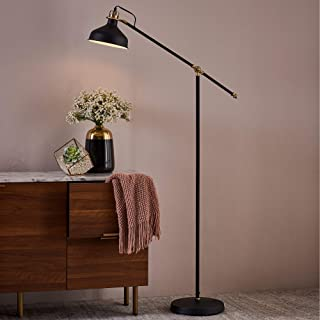 Versanora VN-L00062 Aria Floor Lamps, Black Finished Shade