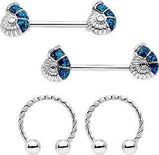 Ariel Seashell WIldKlass Nipple Shield Ring