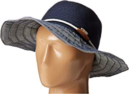 San Diego Hat Company - RBL4787 Ribbon Hat with Rope Band