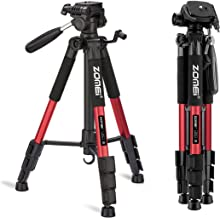 "ZOMEI 58"" Light Weight Travel Portable Aluminum Camera Tripod for Canon Nikon Sony.."
