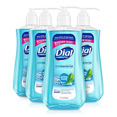 Dial Antibacterial Liquid Hand Soap, Spring Water, 11 Ounce