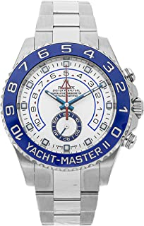 Yacht-Master II Mechanical (Automatic) White Dial Mens Watch 116680 (Certified Pre-Owned)