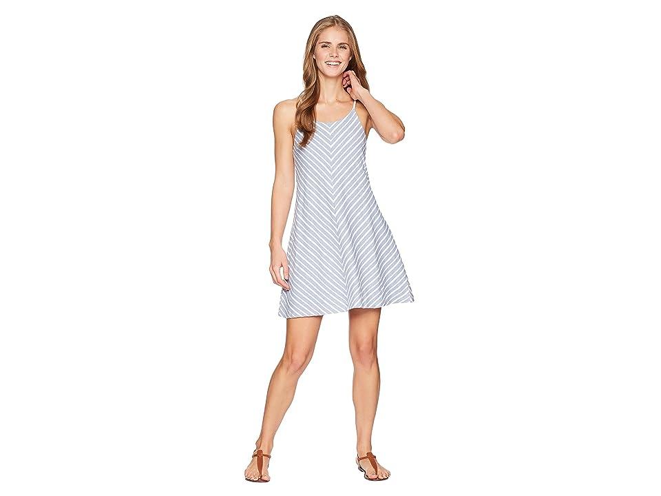 Prana Seacoast Dress (Sunbleached Blue) Women