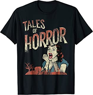 Vintage Horror Movie Poster Shirt Funny Halloween Shirt