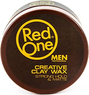 Red One Creative Clay Wax Strong Hold & Matte 100ml