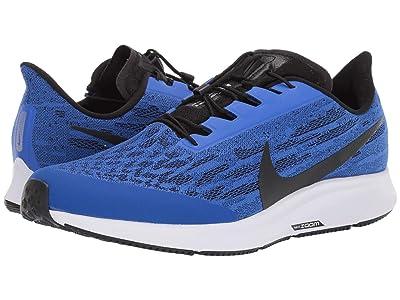 Nike FlyEase Air Zoom Pegasus 36 (Racer Blue/Black/Blue hero/White) Men
