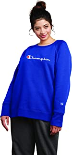 Champion Womens QW914G Fleece Crew Sweatshirt Sweater Long Sleeve Sweatshirt