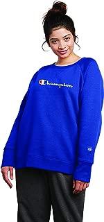 Champion Womens QW914G Fleece Crew Sweatshirt Sweater Long Sleeve Sweatshirt
