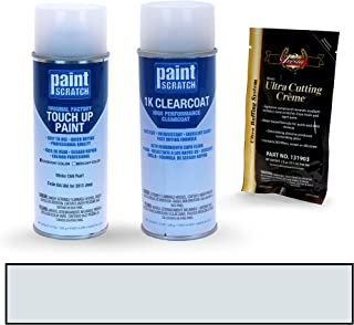 PAINTSCRATCH Winter Chill Pearl BA/JBA for 2013 Jeep Grand Cherokee - Touch Up Paint Spray Can Kit - Original Factory OEM Automotive Paint - Color Match Guaranteed
