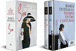 Estuche El tiempo entre costuras y Sira (Autores Españoles e Iberoamericanos)