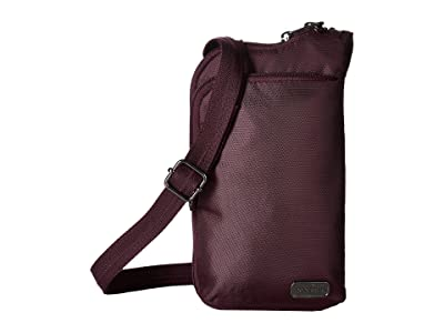 Pacsafe Daysafe Anti-Theft Tech Crossbody Bag (Blackberry) Cross Body Handbags