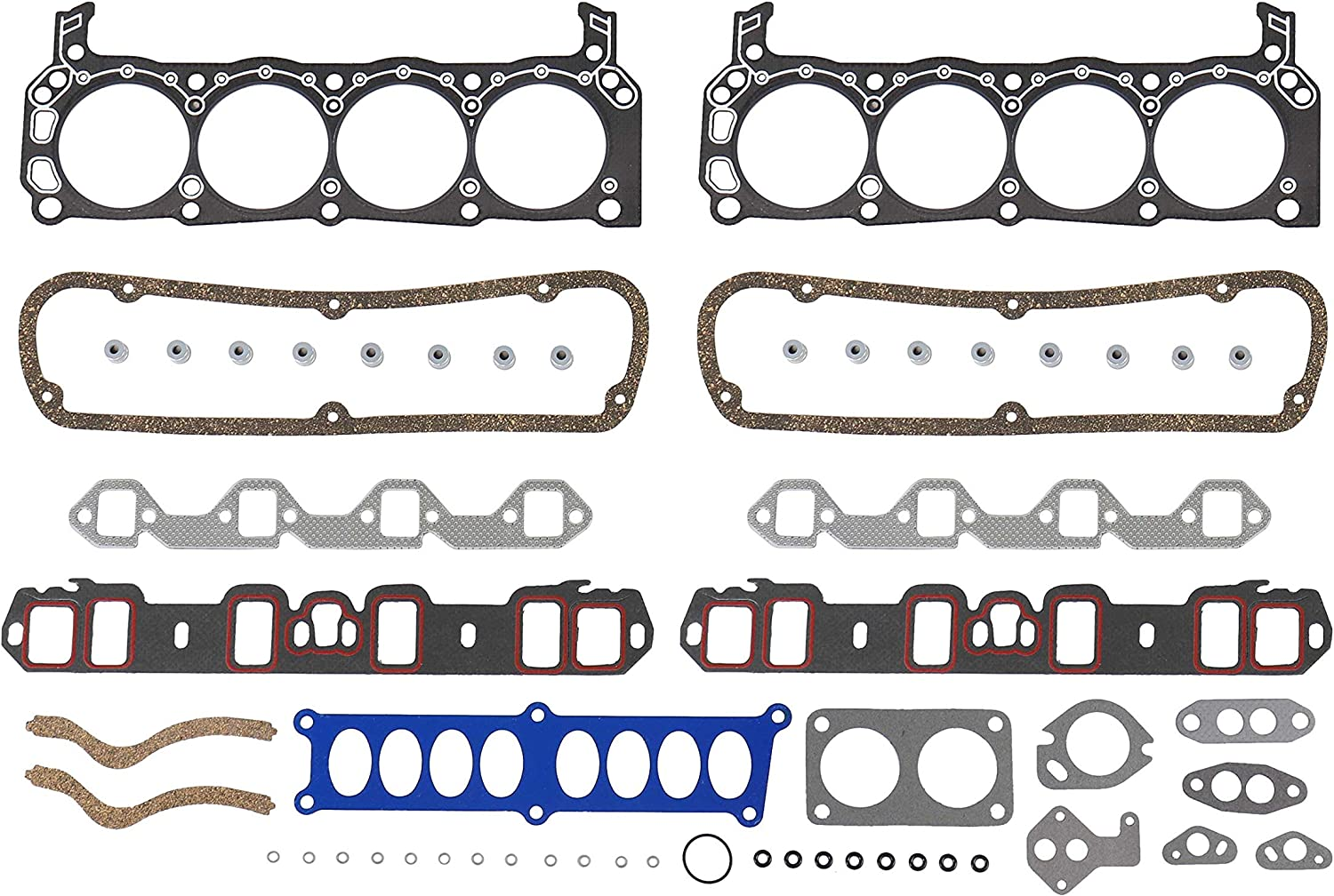 DNJ Ranking TOP2 HGS4188 Graphite Head Gasket 1995-1997 Bronco Ford Set Max 48% OFF For