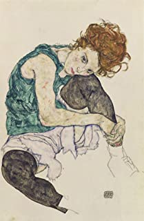 Egon Schiele Seated Woman with Bent Knee 30