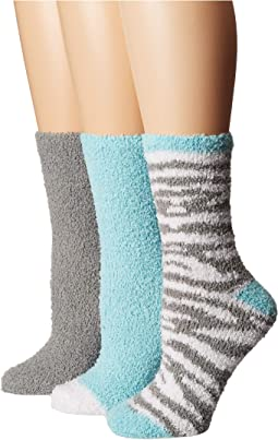 3-Pack Holiday Cozy Socks Gift Box