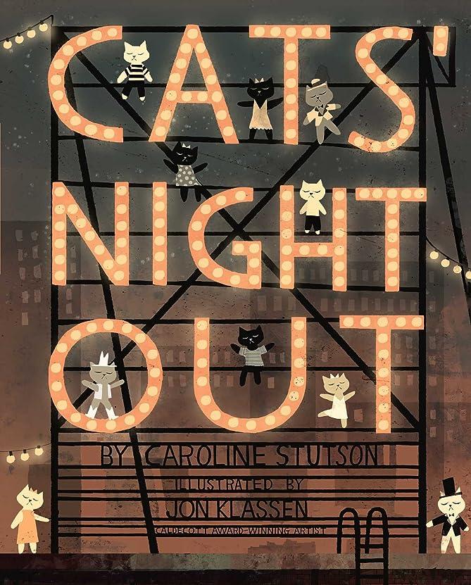 突進直接感動するCats' Night Out (Paula Wiseman Books) (English Edition)