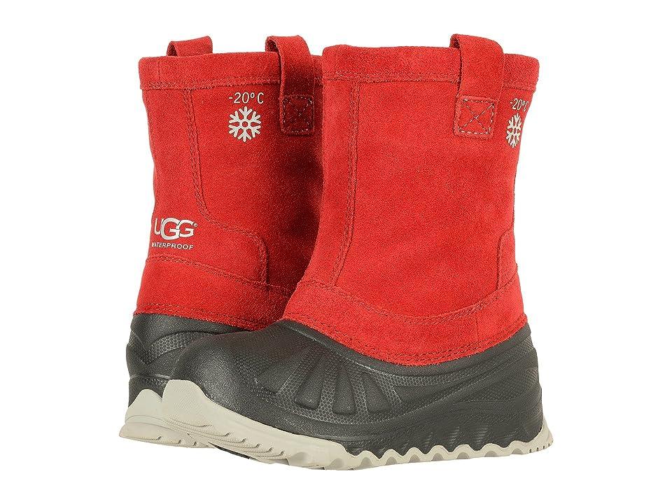 UGG Kids Evertt (Toddler/Little Kid/Big Kid) (Viking Red) Kids Shoes