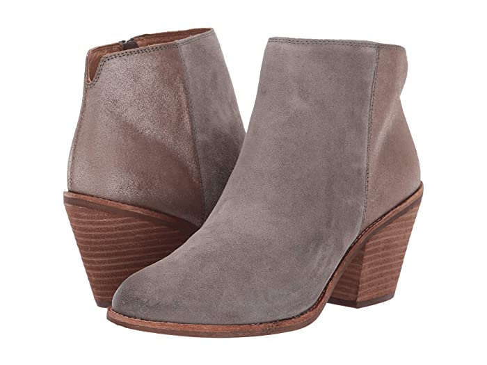 Sofft  Tilton (Pietra Grey/Bronze Oiled Cow Suede/Cometa Metallic) Womens Shoes