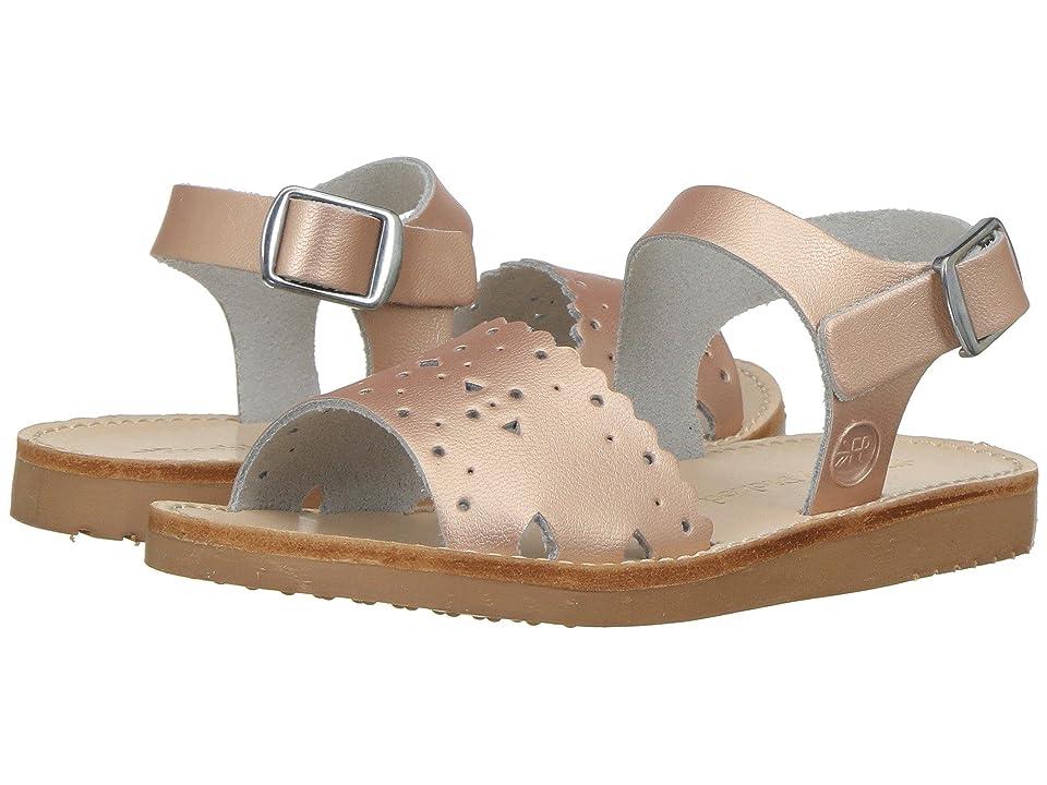 Freshly Picked Laguna Sandal (Infant/Toddler/Little Kid) (Rose Gold) Girls Shoes