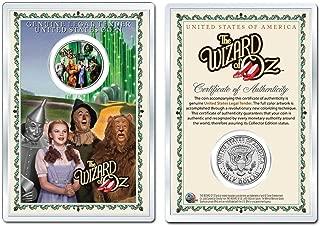 WIZARD OF OZ - Gatekeeper OFFICIAL JFK Half Dollar U.S. Coin in PREMIUM HOLDER