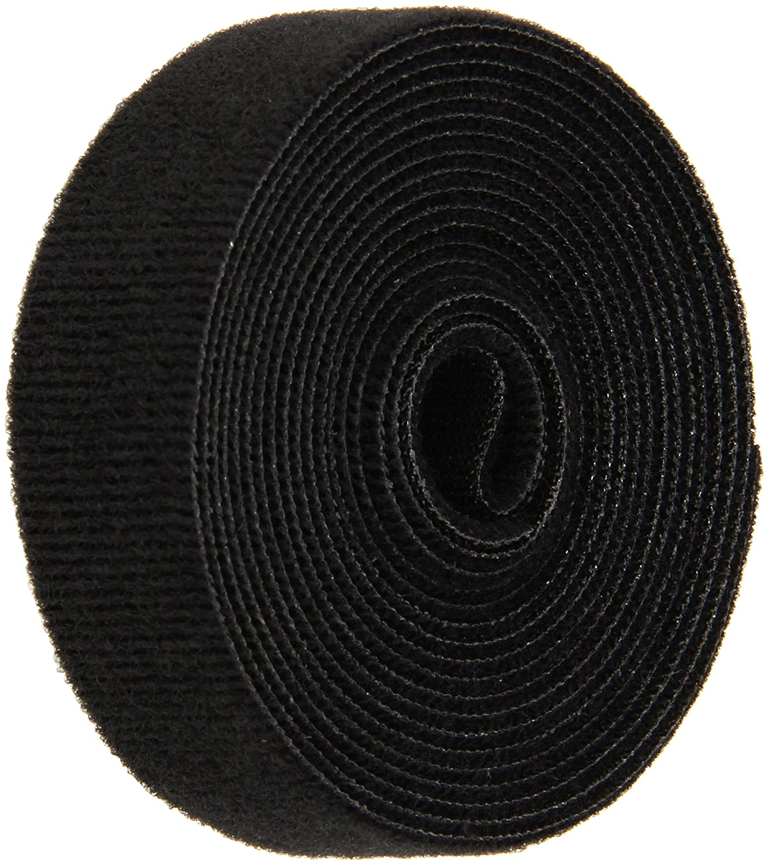 Fees free!! VELCRO 1804-OW-PB Albuquerque Mall B Black Nylon Onewrap Strap Velcro L and Hook
