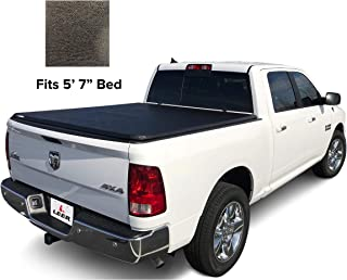 LEER Latitude Soft Tri-Fold Truck Bed Tonneau Cover, 2009-2018 & 2019 Classic Style Dodge Ram 5' 7