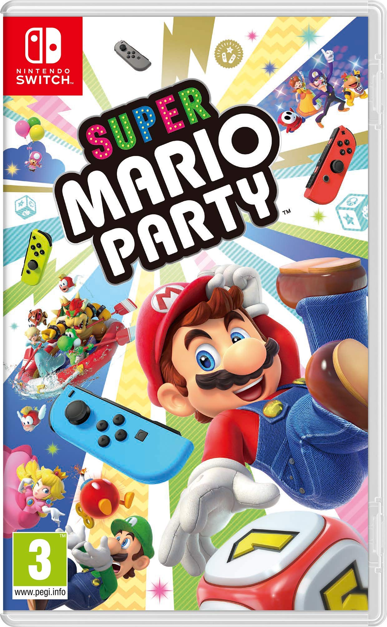 SUPER MARIO PARTY - Nintendo Switch [Importación italiana]: Amazon ...